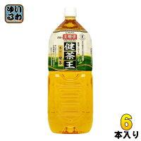 カルピス健茶王香ばし緑茶2Lペット6本入
