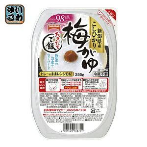テーブルマーク たきたてご飯 新潟県産こしひかり 梅がゆ 255g 24個入〔お粥 おかゆ サトウのご飯 サトウのごはんと同じ 電子レンジご飯 レトルトごはん〕
