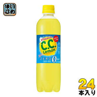 Suntory C. C. lemon リフレッシュゼロ 500 ml pet 24 pieces [CC lemon CC lemon zero calories.