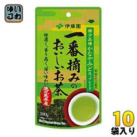 伊藤園 一番摘みのお〜いお茶 1200 100g 10袋入