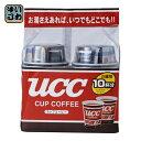 UCC カップコーヒー 10杯分×6個入〔インスタントカップコーヒー こーひー 珈琲 60杯分 アウトドア〕