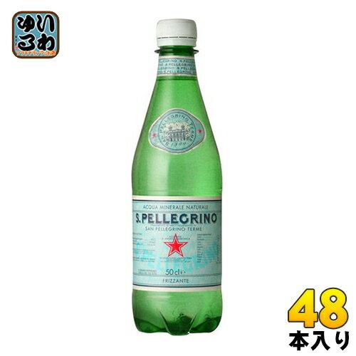 サンペレグリノ 500ml ペットボトル 24本入×2 まとめ買い〔硬水炭酸水〕