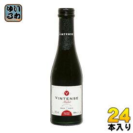 湘南貿易 ヴィンテンス メルロー ミニ 200ml 瓶 24本入〔ノンアルコールワイン メルロー〕