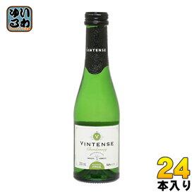 湘南貿易 ヴィンテンス シャルドネ ミニ 200ml 瓶 24本入〔ノンアルコールワイン シャルドネ〕