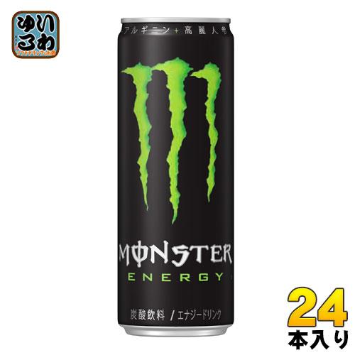 アサヒ モンスターエナジー 355ml 缶 24本入〔炭酸飲料 エナジードリンク 栄養ドリンク もんすたーえなじー Monster Energy〕