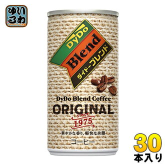Dido blend coffee 185 g cans 30 pieces [DyDo Blend Coffee Coffee]