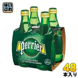 ペリエ 330ml 瓶 48本 (24本入×2 まとめ買い) 〔炭酸水〕