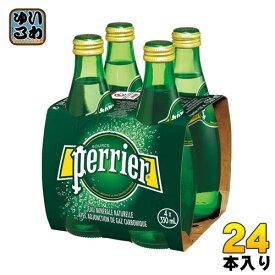 ペリエ 330ml 瓶 24本入 〔炭酸水〕