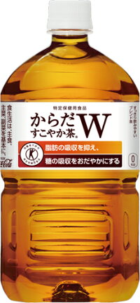 コカ・コーラからだすこやか茶W1050mlペット12本入×2まとめ買い