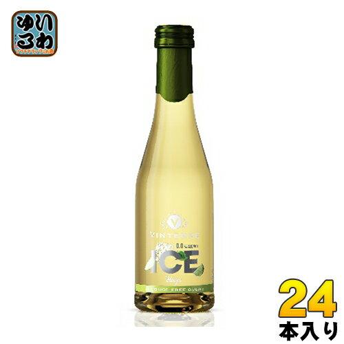 〔クーポン配布中〕湘南貿易 ヴィンテンスアイス・フーゴ・ミニ 200 ml 瓶 24本入〔ノンアルコールワイン 炭酸 スパークリング モクテル〕