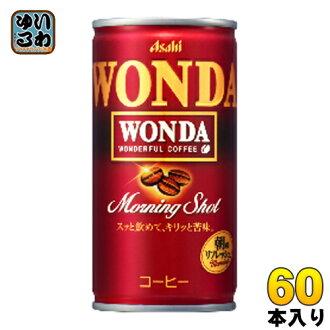 60 canned 185 g of Asahi Wanda WONDA morning coat shots (30 Motoiri *2 bulk buyings) [coffee]