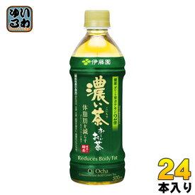 伊藤園 お〜いお茶 濃い茶(VD用) 500ml ペットボトル 24本入〔お茶〕