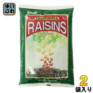 正栄食品 サンライズレーズン 1kg 2袋 (1袋入×2 まとめ買い)〔スイーツ・菓子 ドライフルーツ〕