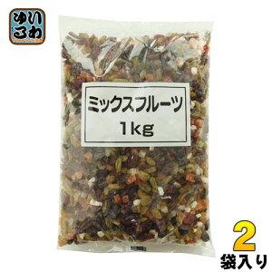 〔クーポン配布中〕正栄食品 ミックスフルーツ 1kg 2袋 (1袋入×2 まとめ買い)〔デザート〕