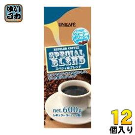 UCC ユニカフェ スペシャルブレンド 粉 600g 12個 (6個入×2 まとめ買い)〔コーヒー〕