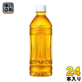 爽健美茶 ラベルレス 500ml ペットボトル 24本入 コカ・コーラ〔お茶〕