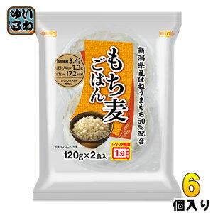 越後製菓 もち麦ごはん 2食×6個入