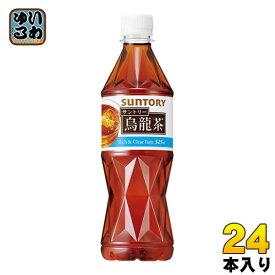 サントリー 烏龍茶 525ml ペットボトル 24本入 〔お茶〕