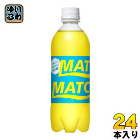 大塚食品 マッチ 500ml ペットボトル 24本入 〔炭酸飲料〕