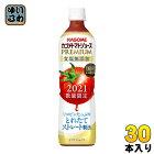 カゴメ トマトジュース プレミアム 2021 食塩無添加 720ml ペットボトル 30本 (15本入×2 まとめ買い)