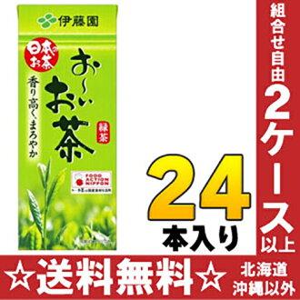 Itoen,-not tea green tea 250 ml paper pack 24 pieces [your-not tea]
