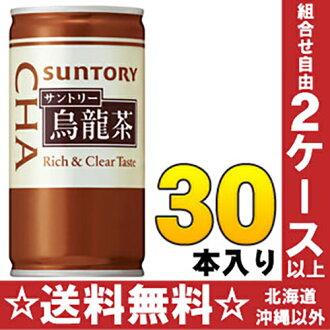 Suntory oolong tea 190 g can 30 pieces [bags]