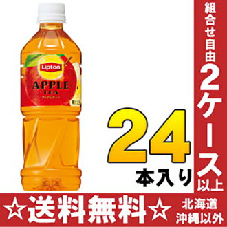 Suntory Lipton Apple tea 500 ml pet 24 pieces [tea Lipton AppleTea]