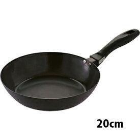 【日本製】 SUITO 使いやすい 鉄フライパン 20cm IH対応 藤田金属調理器具 鉄 フライパン ハードテンパー加工