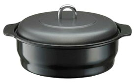 ホーロー 焼きいも器 石付 22cmHA-YM 高木金属 石焼きいも器 焼き芋