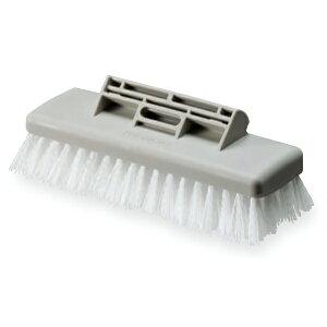 テラモト FX デッキブラシ 5色カラーキャップ付き 180mm 大掃除に! 小スペ−ス! 大掃除用道具 付け替えが出来る
