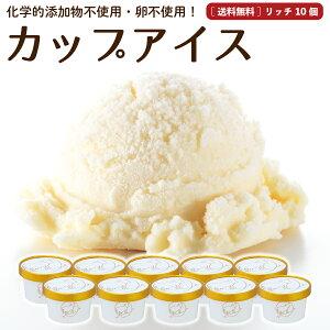 アイスクリーム 10個 送料無料 プレミアム 無添加 生クリーム 詰め合わせ スイーツ ご褒美 卵不使用 ギフト グラスフェッド お取り寄せ 送料込み [冷凍] gift  2003ss nor