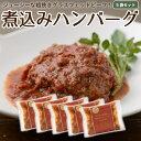 国産 ハンバーグ グラスフェッドビーフ 5食分 冷凍レトルト 温めるだけ 牛肉 放牧 牧草牛 お取り寄せ [冷凍]