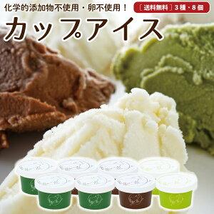 お中元 ギフト 無添加 アイスクリーム 8個 送料無料 卵不使用 詰め合わせ スイーツ グラスフェッド 有機 お取り寄せ 送料込み [冷凍] gift aug