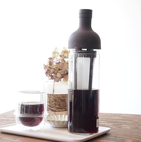 HARIO(ハリオ)フィルターインコーヒーボトル ショコラブラウン  水出し/アイスコーヒー/ポット