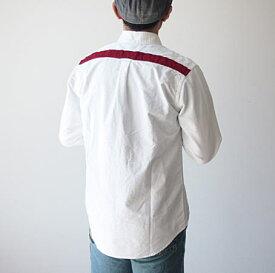 SETTO(セット)YORK LINE SHIRT オックスシャツ シンプルなオックスシャツの背中にモールを打ったオシャレなメンズシャツ。