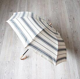 RESTFOLK  フォールディング サンシェード ボーダー 日傘 雨傘 兼用