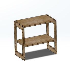木製ラック 60x35x62
