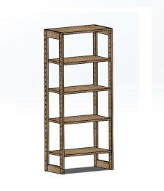木製ラック 60x35x122