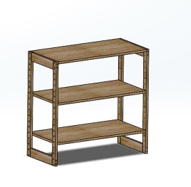 木製ラック 90x45x92