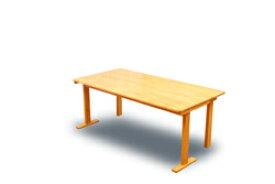 国産 中居木工 折りたたみ 木製 ダイニングテーブル 90×180×高65