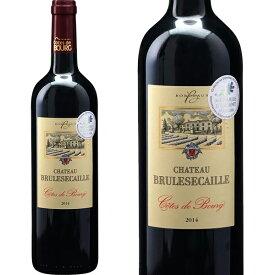 シャトー ブリュルセカイユ [2014] 750ml フランス ボルドー 赤ワイン 右岸 コート ド ブール ジビエ