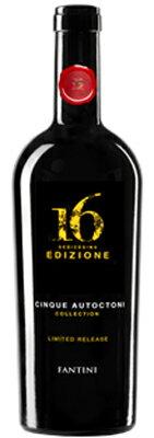 【限定品】ファルネーゼ エディツィオーネ チンクエ アウトークトニ コレクション NV 750ml/イタリア/アブルッツォ/赤ワイン/フルボディ