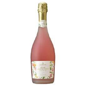 【スパークリングワインセール】ドクターディムース ピンクグレープフルーツ スパークリングワイン 750ml 発泡 フルーツワイン グレープフルーツ お酒