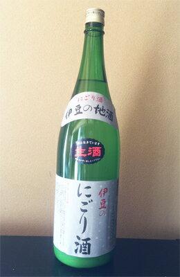 万大醸造 伊豆のにごり酒(旧商品名:桂川にごり酒) 1800ml/静岡/伊豆/にごり酒/一升瓶