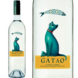ガタオ ヴィーニョヴェルデ サルディーニャラベル 750ml ボルゲス ポルトガルワイン 猫ラベル いわしラベル 微発泡 白ワイン 辛口 1200