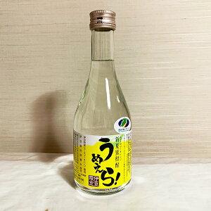 新夏蜜柑酎 うめえら! 300ml ニューサマーオレンジ酎 柑橘系焼酎 25度 伊豆 お土産 ミニボトル
