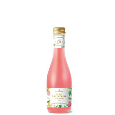 ドクターディムース ピンクグレープフルーツ スパークリングワイン 200ml/フルーツワイン/ミニボトル/ベビーボトル/果実酒/発泡性/380
