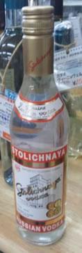 【在庫処分セール】ストリチナヤ ウォッカ 40度 500ml/ウオッカ/ロシア/1790 ※旧ラベル