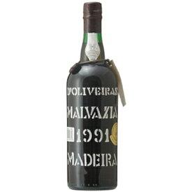 マデイラ マルヴァジア [1991] 750ml ペレイラ・ドリヴェイラ ポルトガル マディラワイン 甘口