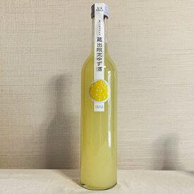 高砂 ゆず酒 500ml 富士高砂酒造 8度 日本酒ベース 静岡 スリムボトル 柚子 はちみつ